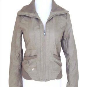 Xhilaration Faux Leather Jacket Size XXL fits L