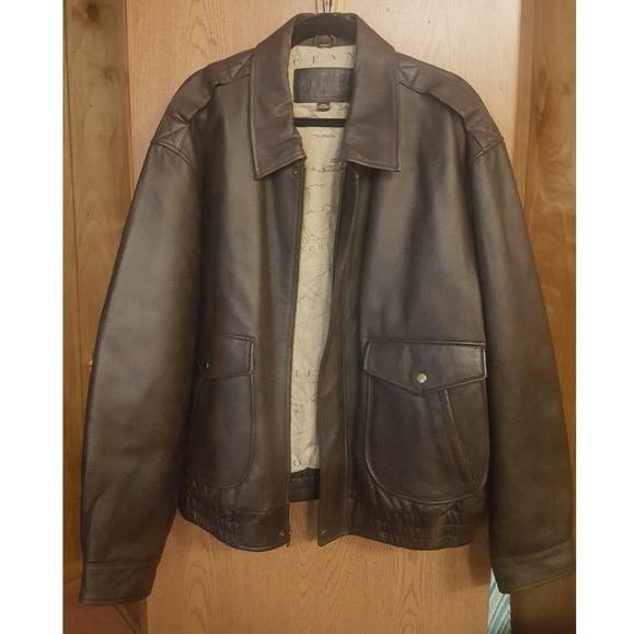 9da5f0e10 Men's Brown Leather Jacket
