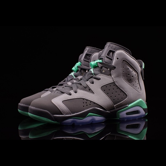 info for 0b7a1 bd705 Air Jordan Shoes - Air Jordan 6 Retro Green Glow