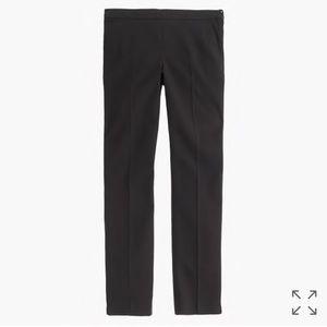 J.Crew Martie slim crop black pant!