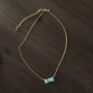 Kate Spade bow adjustable necklace