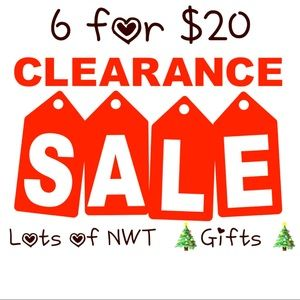 Jewelry - 6 for $20!!! ENTIRE CLOSET ❤️🎉🎉🎉🎉