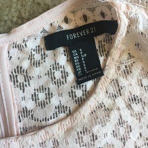 Forever 21 Dresses - Forever 21 light pink sheer dress.