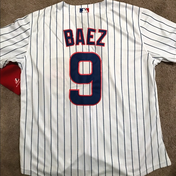 the latest 4ee6c cd68d Women's Javier Baez Chicago Cubs jersey (Large) NWT