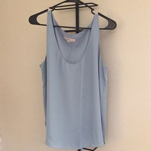 Light blue blouse from LOFT