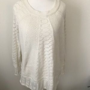 Angel of the north cream sweater