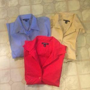 Lands End Dress Shirt Bundle