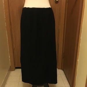 BOGO Free☀️ Talbots petite black skirt sz 8P