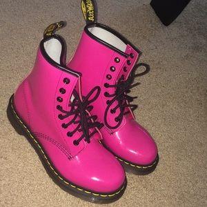 Hot Pink Doc Martens