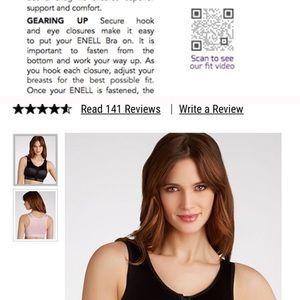 2e9dcdc9a4ffe Enell Intimates   Sleepwear - Pre-loved Black Size 3 Enell Sports Bra