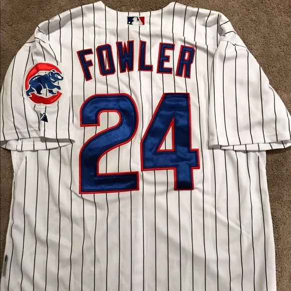 cheap for discount fdcc1 1b98f Men's Chicago Cubs Dexter Fowler jersey (Large)