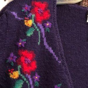 Susan Bristol Wool Sweater-Size M