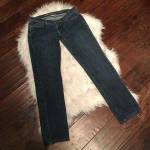 EUC Abercrombie & Fitch straight leg jeans stretch