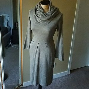 The Limited taupe sweater dress