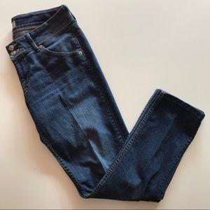 Hudson Collin Flap Skinny Jean Med Dark Button Fly
