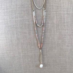 Nakamol Jewelry - 💎 Nakamol Handmade Gemstone Pearl Necklace 💎