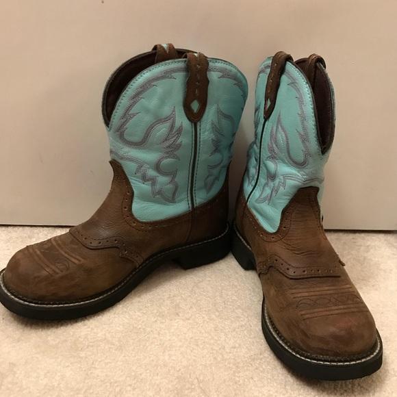 99cd0651af4 Women's Justin Gypsy cowboy boots size 10
