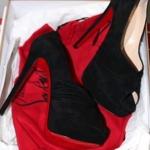 Christian Louboutins red bottoms