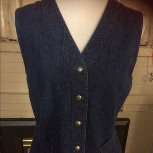 🆕 Coldwater Creek Denim Vest