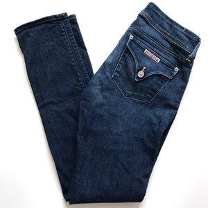 Hudson Collin Skinny Jeans in Dark Indigo