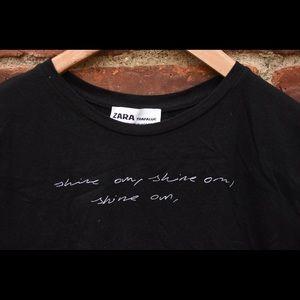 Zara Trafaluc Graphic Shirt