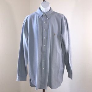 Men's Ralph Lauren Light Blue Casual Top 2XLT