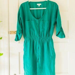 Urban Outfitter green shirt dress