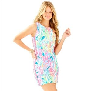 Lilly Mila Shift Dress in Sparkling Sands