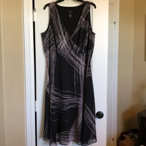 EUC Lane Bryant Chiffon Dress in 18