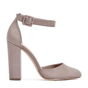 "Chunky heels ""azra"" pumps"