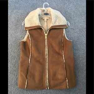 MICHAEL Michael Kors faux suede vest size S