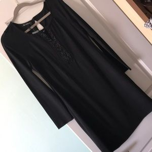 NWT black M INC dress