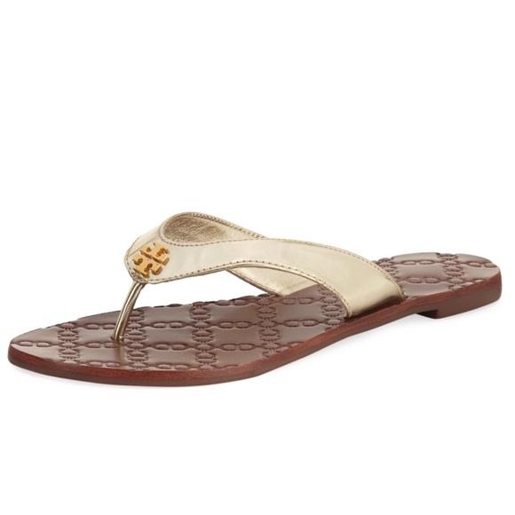 4d3003026f69 Tory Burch Thora Monroe Sandal (Gold) 8. M 5a2d670e36d594e04c05f836