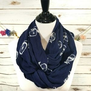 🍍Charming Charlie lightweight bicycle scarf