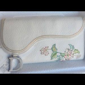 Stunning Dior Flower Wallet NWT (Great Gift)
