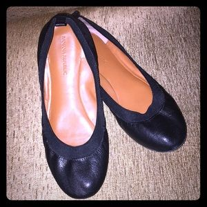 Banana Republic Black Ballet Flats