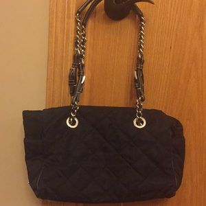 Authentic Prada Tessuto Quilted Tote Shoulder Bag