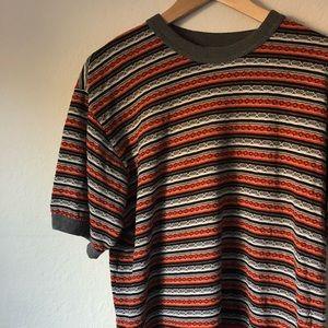 Vintage Men's Striped T-Shirt