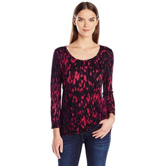 bbe5506f47138e Calvin Klein Jeans Printed Split Back T-Shirt