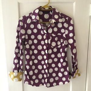 Fun Boden polka dot blouse!