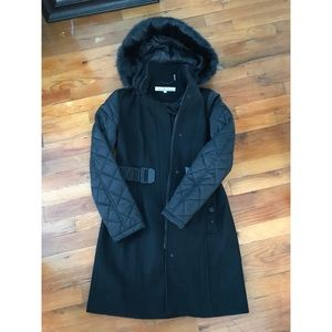 Black Kenneth Cole coat