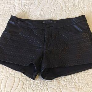 Leather shorts 🖤