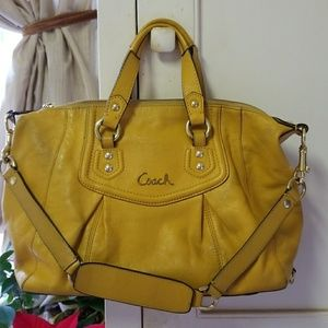 SALE: COACH Leather Satchel J1275