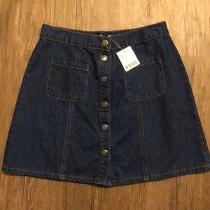Urban Outfitters BDG denim mini skirt!