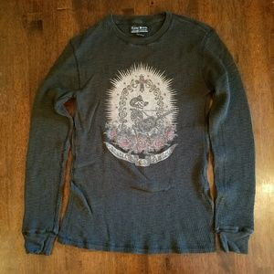 Lucky Brand Green thermal XS