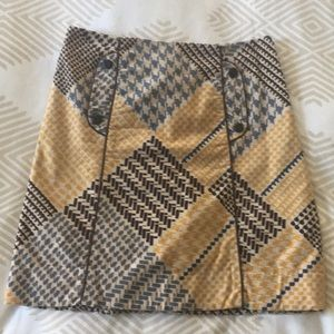 Maeve Print Skirt from Anthropologie. Size 4
