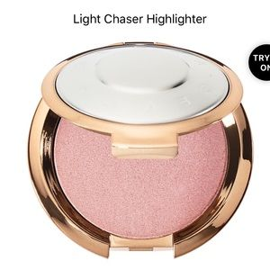 Rose gold quartz flashes seashell Becca