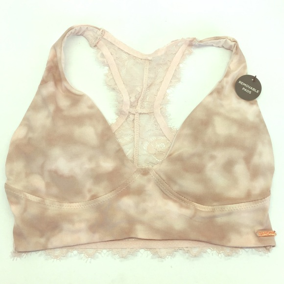 01576399f8 NEW Danskin Bralette with removable pads Sz small