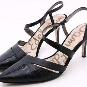 Sam Edelman Black low heels