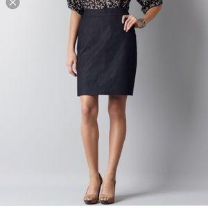 Ann Taylor | Denim Pencil Skirt